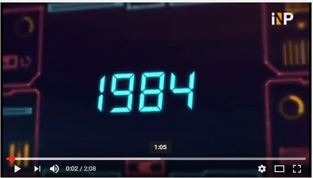 يسعدنا احبتنا ان نصبح كعام 1984م وان كان في الماضي